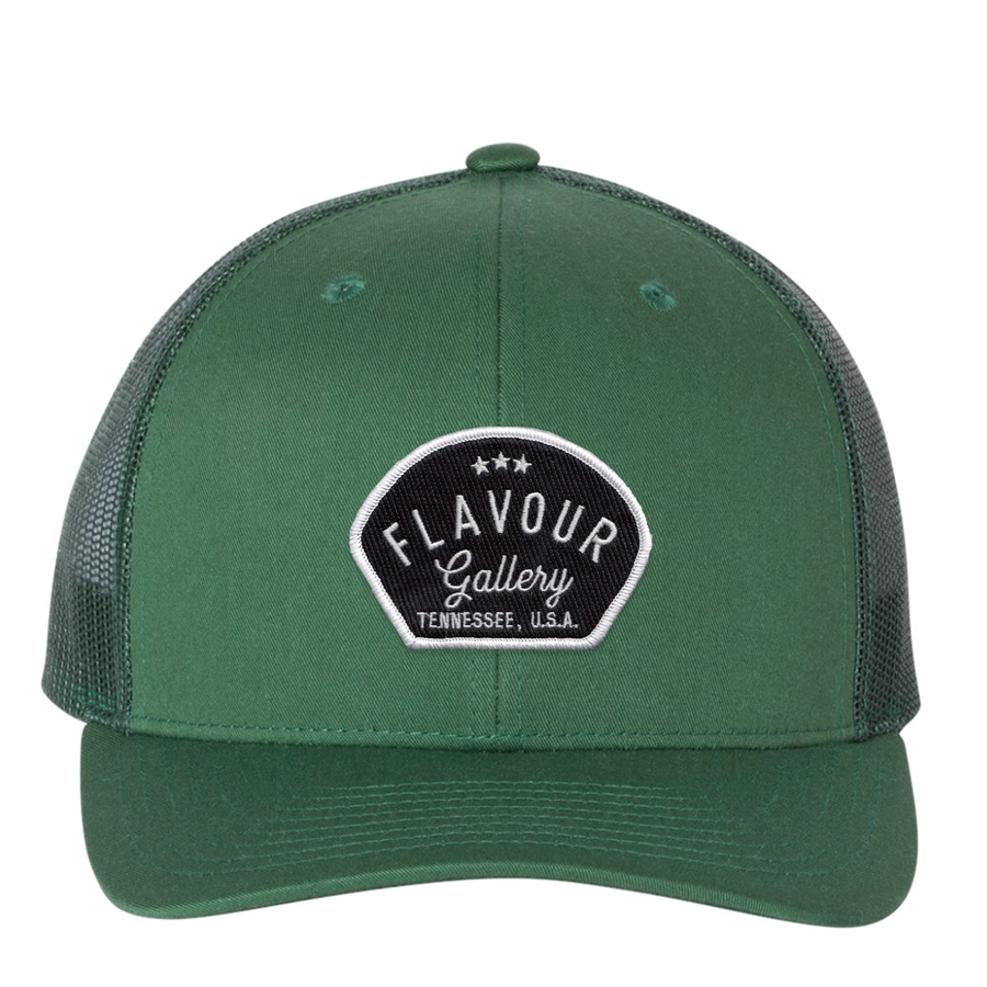 Flavour Gallery - Trucker Hat - Evergreen