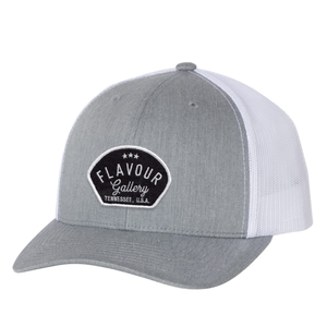 Flavour Gallery - Trucker Hat - Heather Grey/ White