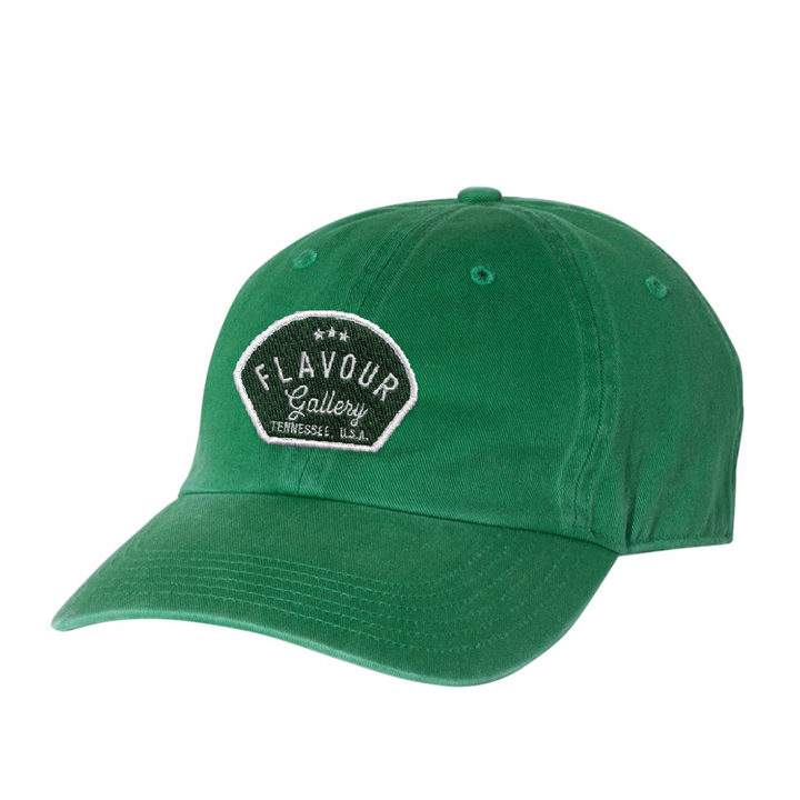 Flavour Gallery - Dad Cap - Kelly Green