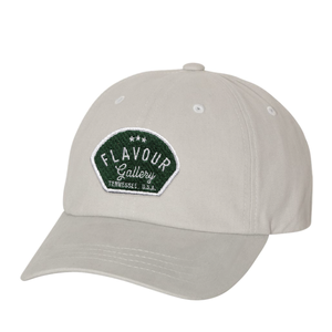 Flavour Gallery - Dad Cap - Light Grey - Green Patch