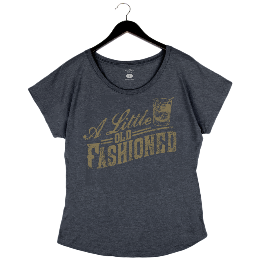 Little Old Fashioned - Women's Dolman - Navy