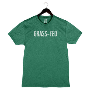 Grass-Fed - Unisex/Men's Crew - Grass Green