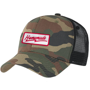 Homemade - Trucker Hat - Camo/Black