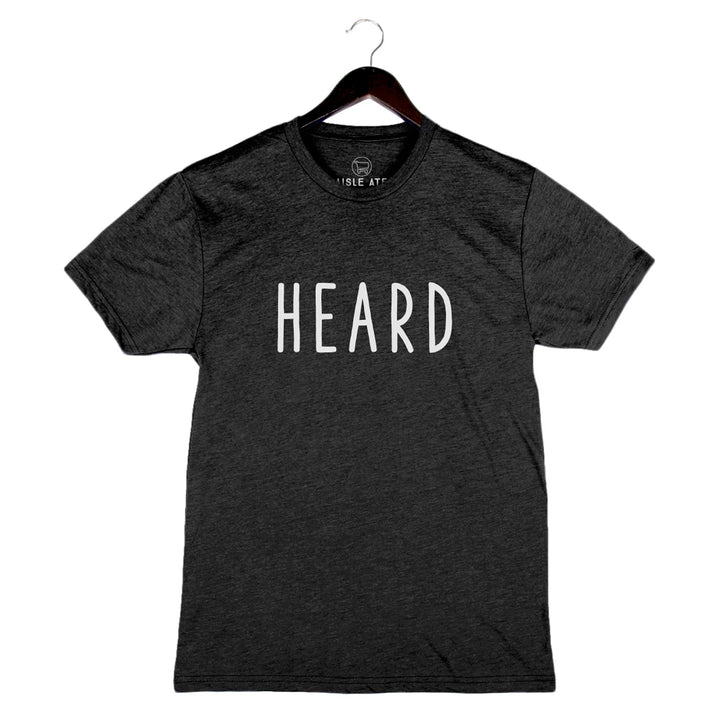 Beyond The Plate - Heard - Unisex/Men's Crew - Vintage Black
