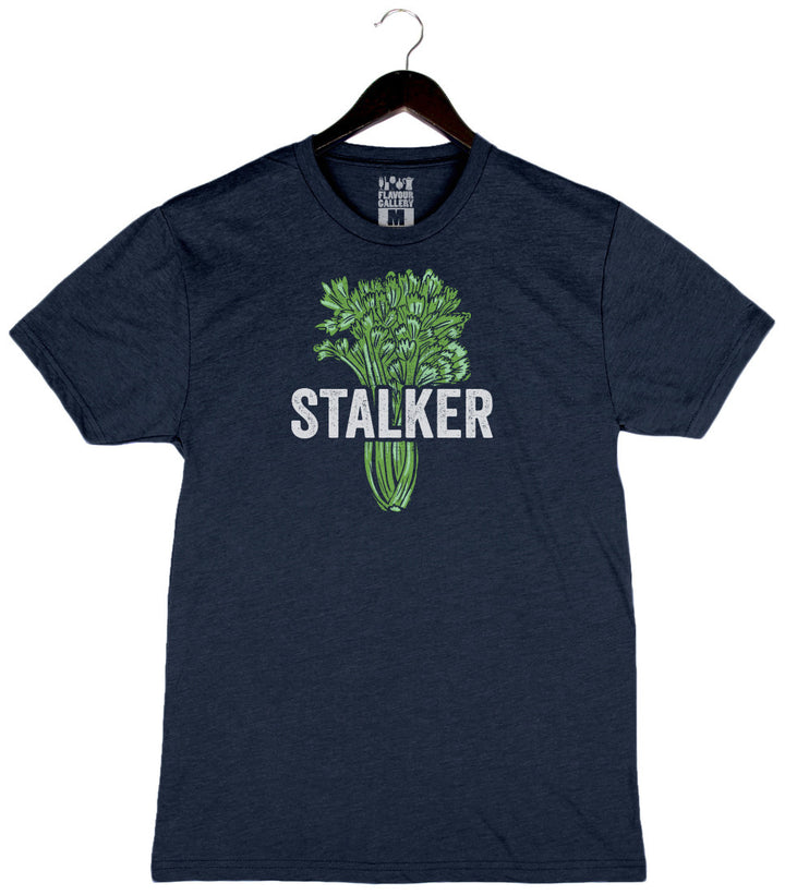 Stalker by Jenn Louis - Unisex/Men's Crew - Navy