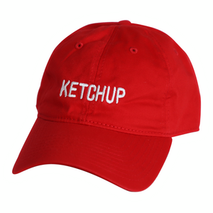 Ketchup - Dad Cap - Red