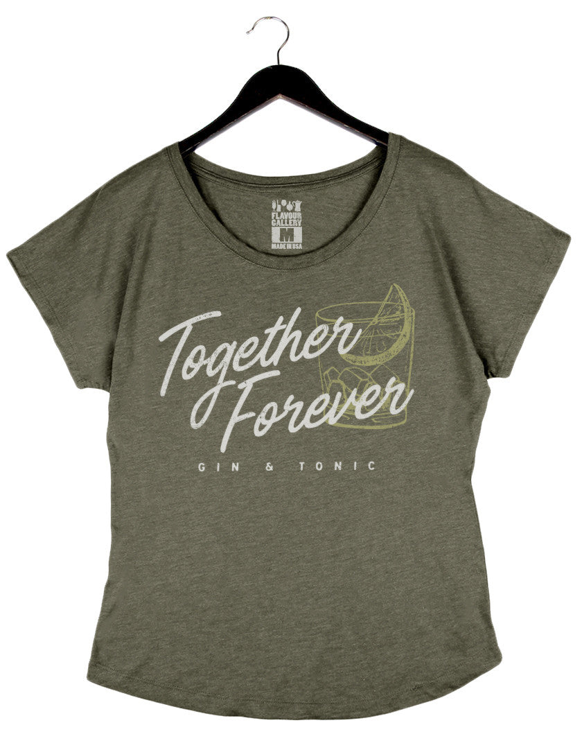 Together Forever - Women's Dolman - Olive