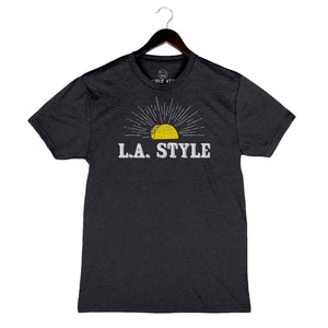 Beyond The Plate - LA Style - Unisex/Men's Crew - Black
