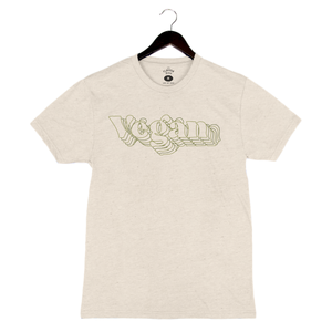 Vegan By Leslie Durso - Unisex/Men's Crew - Oatmeal