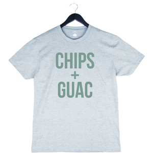 Chips + Guac - Unisex/Men's Crew - Dusty Blue
