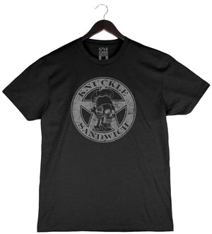 Knuckle Sandwich by Guy Fieri - Unisex/Men's Crew - Black
