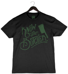 Know Thy Butcher - Men's T-Shirt - Black