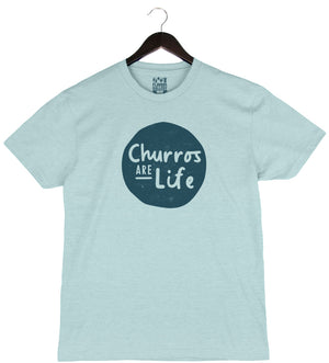 Churros are Life - Unisex/Men's Crew - Dusty Blue