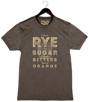 Old Fashioned - Unisex/Men's Crew - Brown