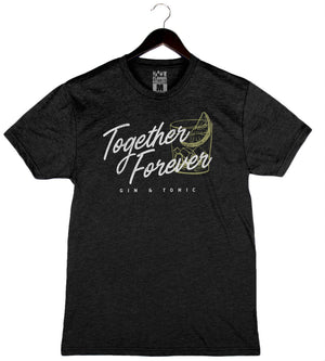 Together Forever - Unisex/Men's Crew - Black