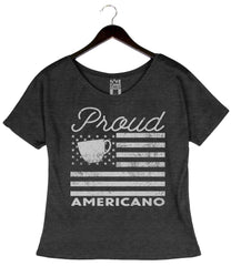 Proud Americano - Women's loose Tee