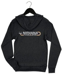 Nirvana Food and Wine '18 - Rainbow - Unisex Zip Hoodie