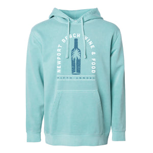 Newport Beach Wine and Food 2018 - Bottle - Unisex Pullover Hoodie - Mint