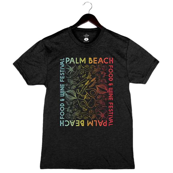 Palm Beach Food and Wine 2019 - Rainbow Veggies - Unisex/Men's Crew