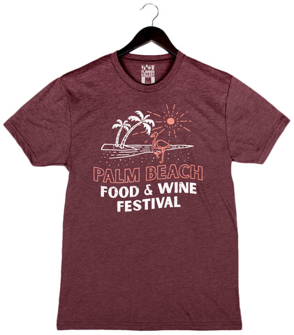 Palm Beach Food & Wine 2018 - Flamingo - Unisex Crew