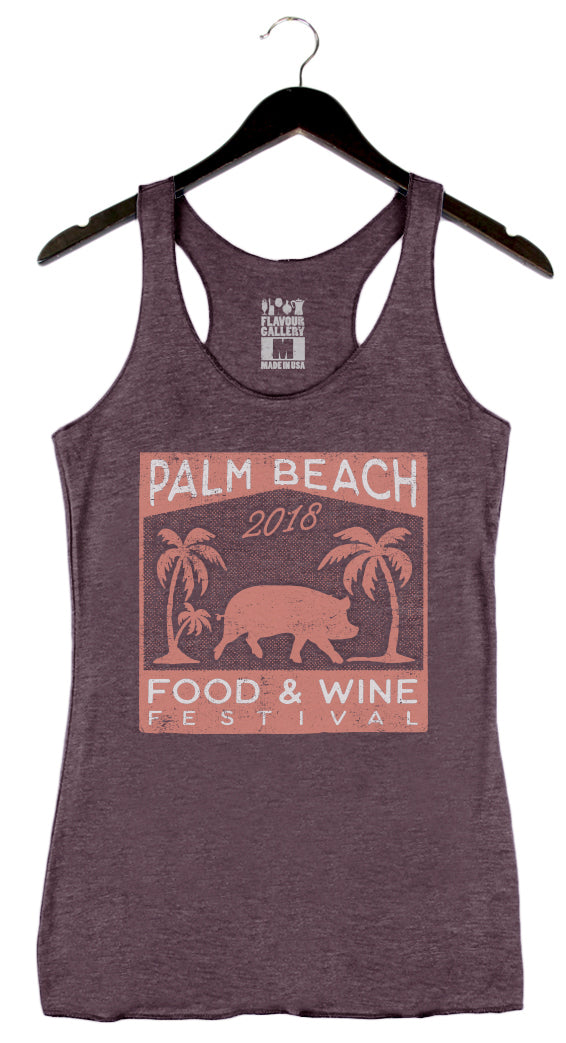 Palm Beach Food & Wine 2018 - Pig - Women's Tank