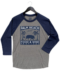 Palm Beach Food & Wine 2018 - Pig - Unisex Raglan