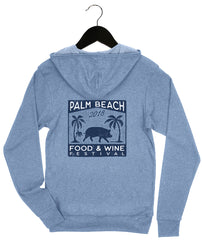 Palm beach Food & Wine 2018 - Pig - Unisex Zip Hoodie