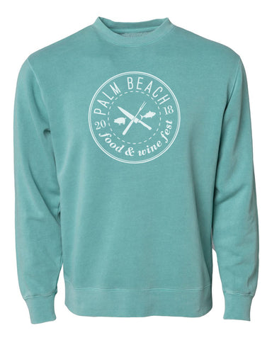 Palm Beach Food & Wine 2018 - Logo - Unisex Crewneck Sweatshirt