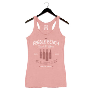 Pebble Beach Food and Wine '19 - Bottles - Women's Racer Tank