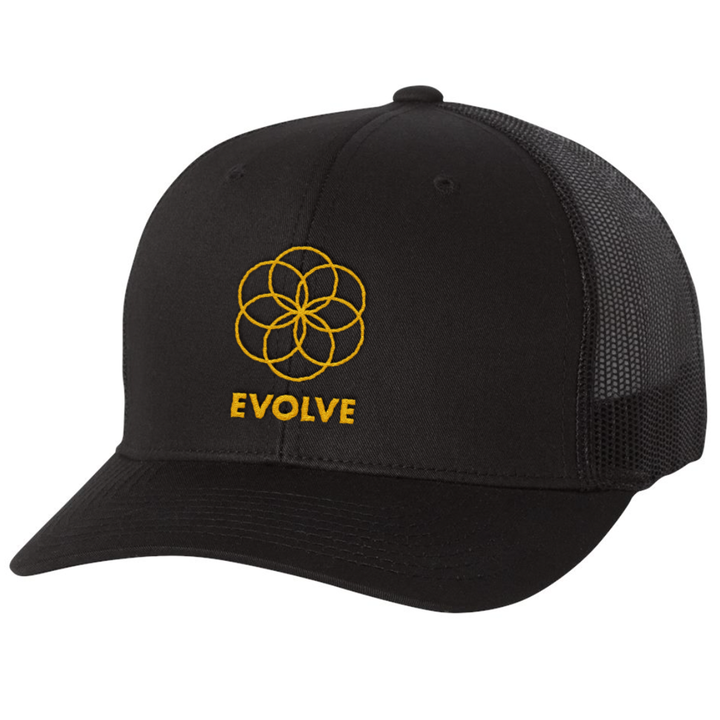 Evolve by Pete Evans - Trucker Hat - Black