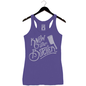 Know Thy Butcher - Women's Tank - Purple