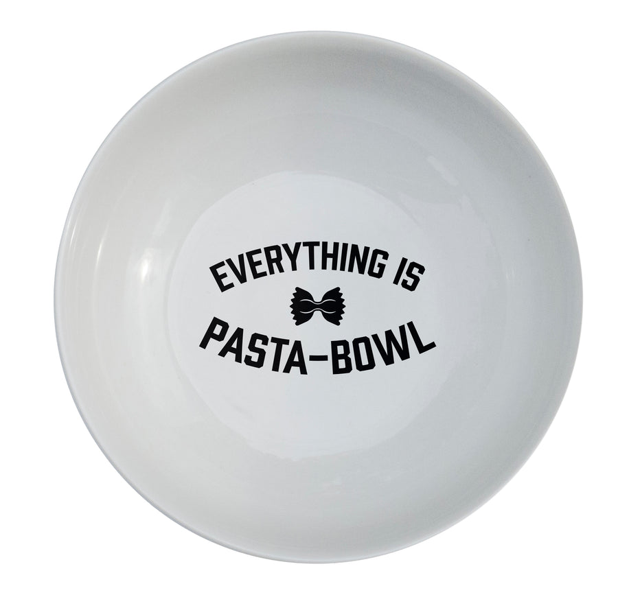 Everything is Pasta-Bowl - Classic Pasta Bowl