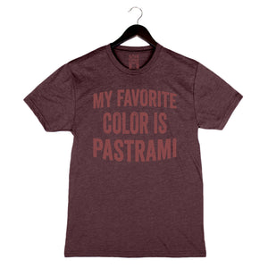 My Favorite Color Is Pastrami by Jeff Mauro - Unisex/Men's Crew - Pastrami