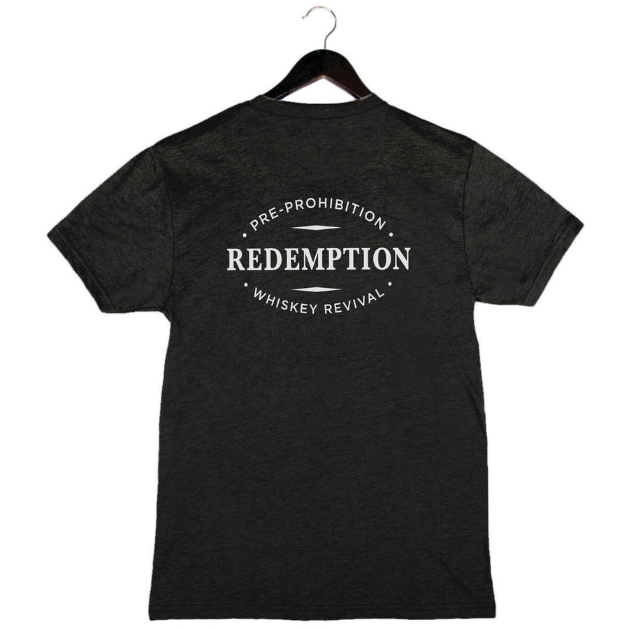Redemption Whiskey - Unisex/Men's Triblend Tee - Charcoal