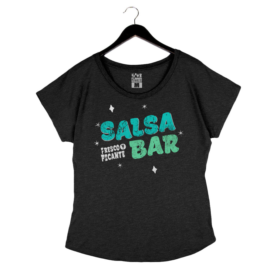 Salsa Bar - Women's Dolman - Vintage Black