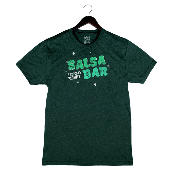 Salsa Bar - Unisex/Men's Crew - Emerald