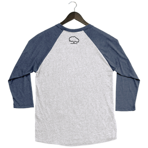 Tupelo Honey - Butter My Biscuits - Baseball Tee - Navy/White