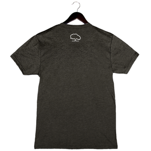 Tupelo Honey - Kiss My Grits - Unisex/Men's Crew - Charcoal Black