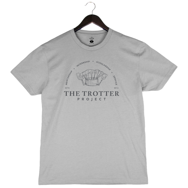 Trotter Project - Unisex Crew - Silver