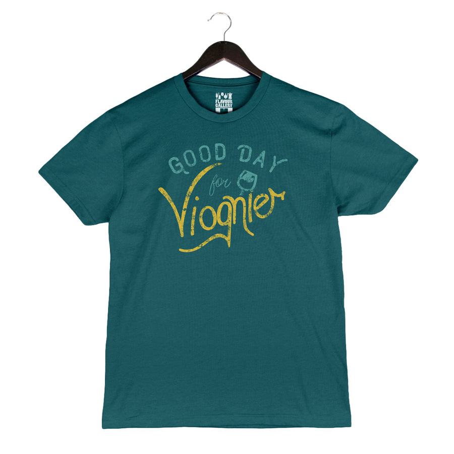 Good Day For Viognier - Unisex/Men's Crew - Teal