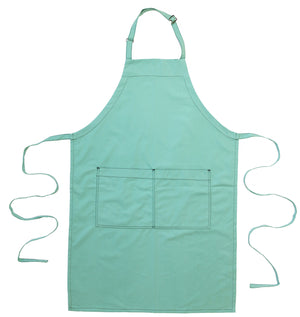 Full Bib Chef's Apron - Mint