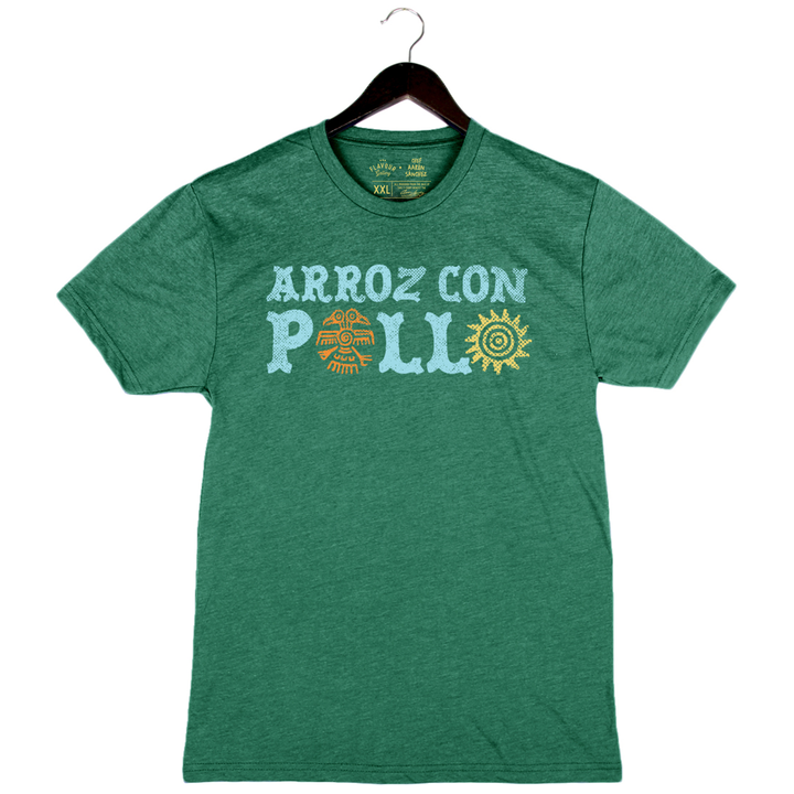 Arroz Con Pollo by Aarón Sánchez - Unisex/Men's Crew - Grass Green