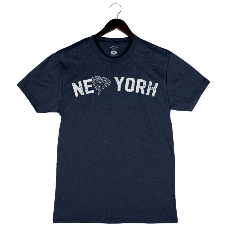 Brunch Boys - NY Pizza - Unisex/Men's Crew - Navy