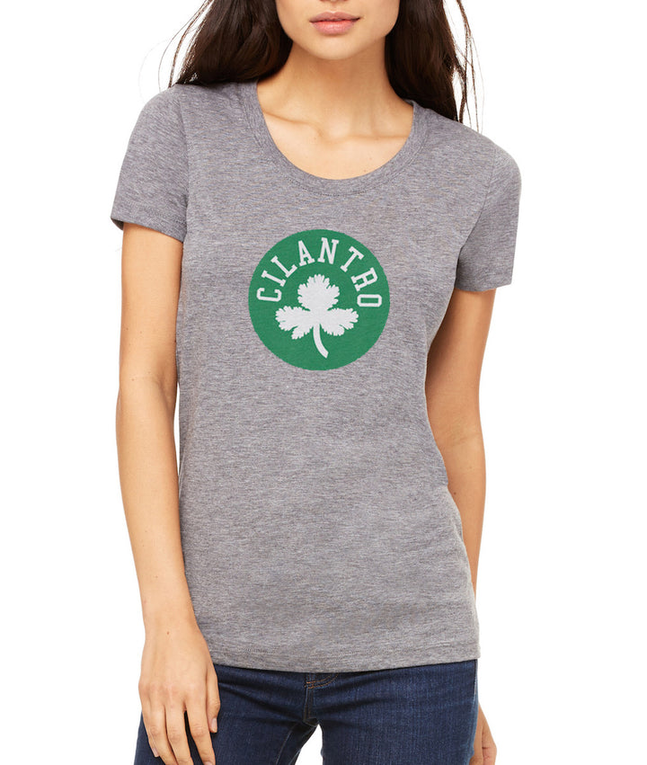 Cilantro by Matthew Jennings - Women's Crew - Heather Grey