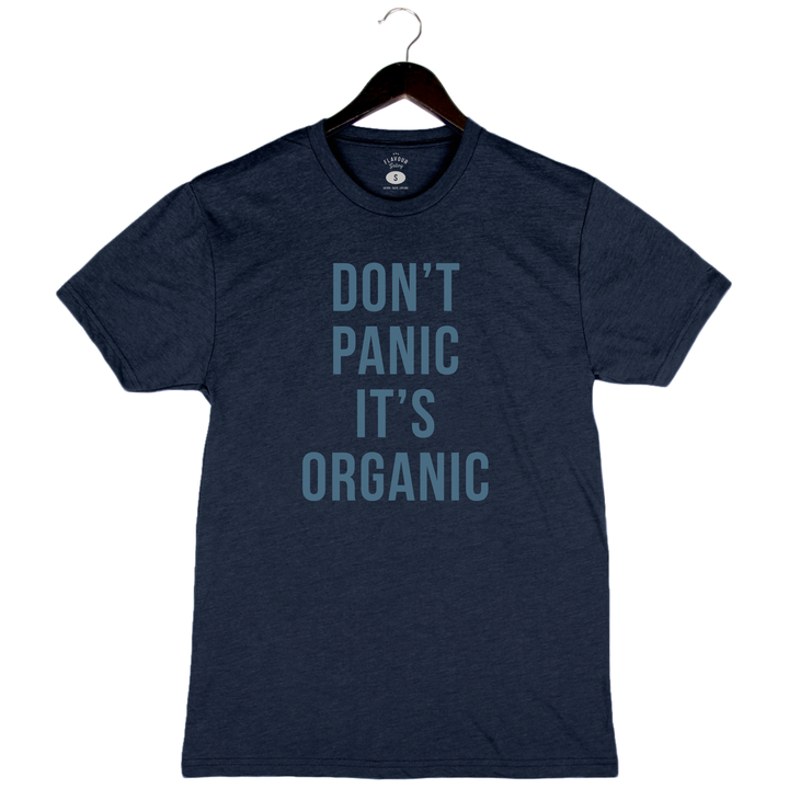 Don't Panic It's Organic - Unisex/Men's Crew - Midnight Navy