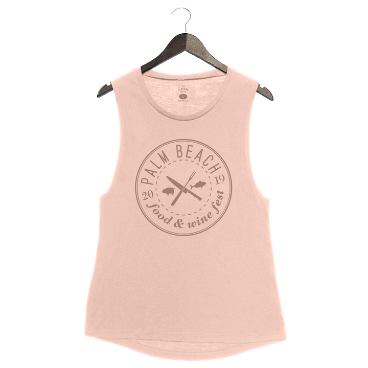 Palm Beach Food and Wine 2019 - Logo - Muscle Tank