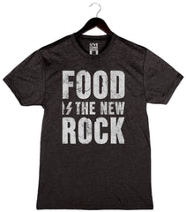 Food Is The New Rock - Men's Triblend Crew