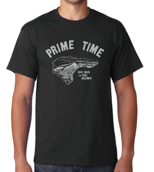 Prime Time by Guy Fieri - Unisex/Men's Crew - Black