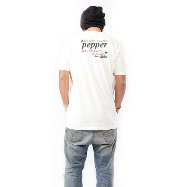 Pepper - Unisex/Men's Crew - Natural