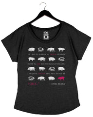 Pork Quote by James Beard Foundation - Women's Top